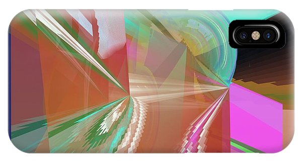 Abstract Light IPhone Case