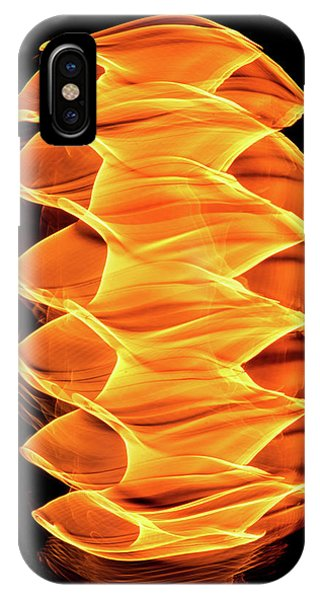 Abstract Light Number 2 IPhone Case