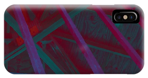 Abstract Line Phone Case by John  Bichler