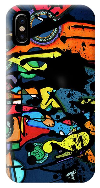 Abstract Man  IPhone Case