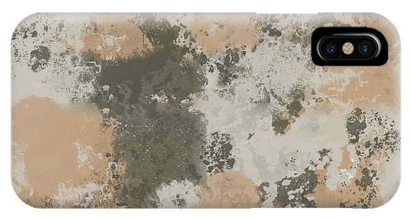 Abstract Mud Puddle IPhone Case