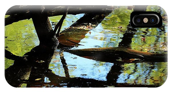 Abstract Of St Croix River 03 IPhone Case