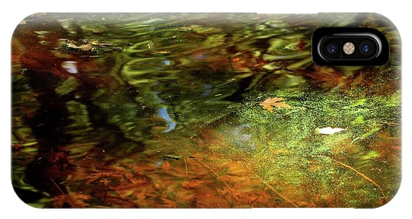 Abstract Of St Croix River 04 IPhone Case