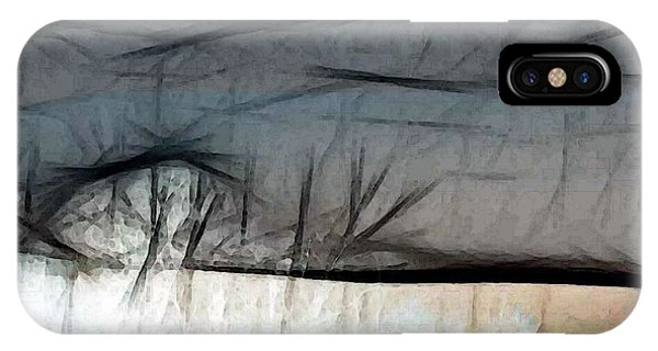 Abstract On River IPhone Case