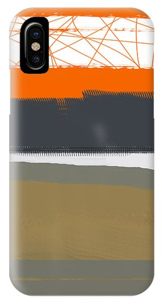 Abstract Orange 1 IPhone Case