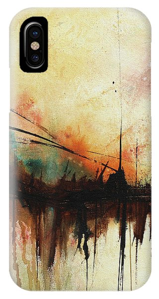 Abstract Painting Contemporary Art IPhone Case