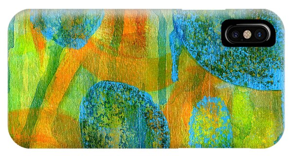 IPhone Case featuring the painting Abstract Painting No. 1 by David Gordon