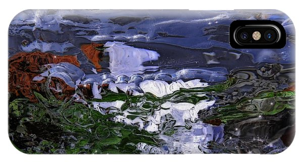 Abstract Rapids IPhone Case