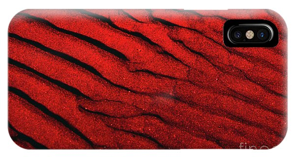 Abstract Red Sand- 2 IPhone Case