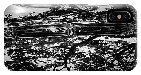Abstract Reflection Bw Sq II - Vehicle IPhone Case