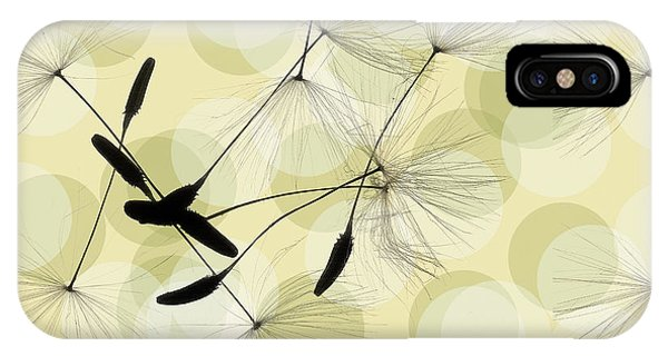 Abstract Botanical IPhone Case