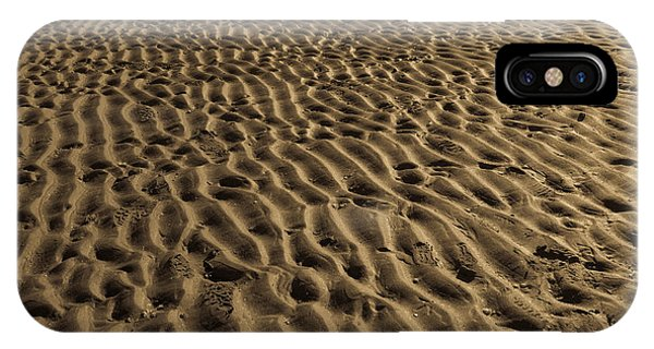Abstract Sand IPhone Case