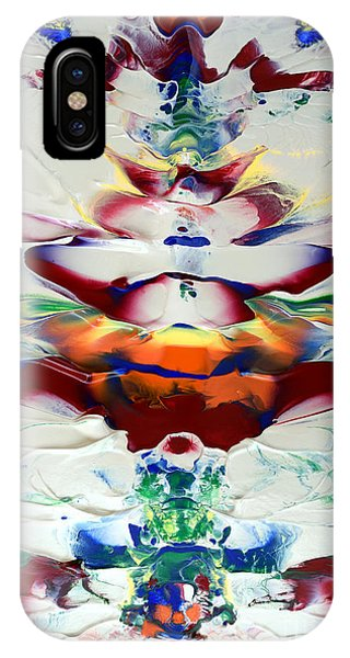Abstract Series H1015al IPhone Case