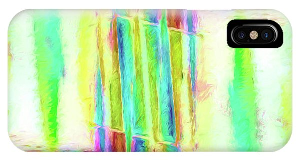 Abstract - Stained-glass Dreams IPhone Case