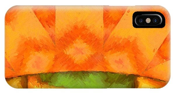 Endless iPhone Case - Abstract Sunrise by Dan Sproul