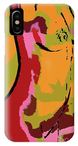 Abstract Torso IPhone Case