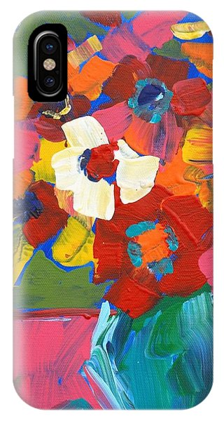 Abstract Vase IPhone Case