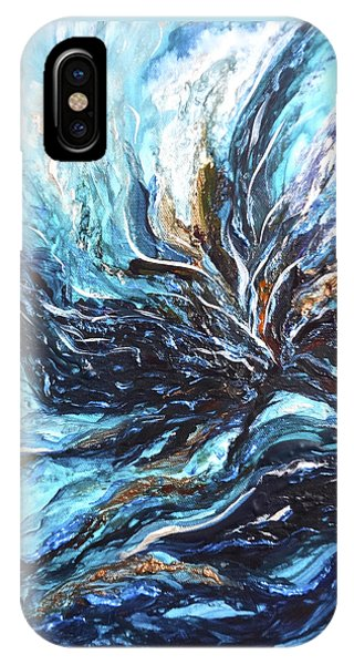 Abstract Water Dragon IPhone Case