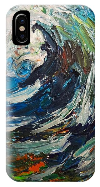 Abstract Wild Wave  IPhone Case
