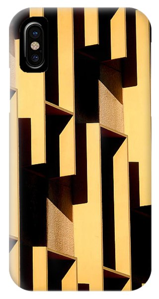 State Building Abstract IPhone Case