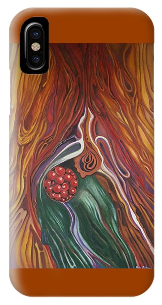 Abstraction With Red Balls IPhone Case