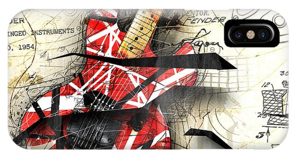 Abstracta 35 Eddie's Guitar IPhone Case