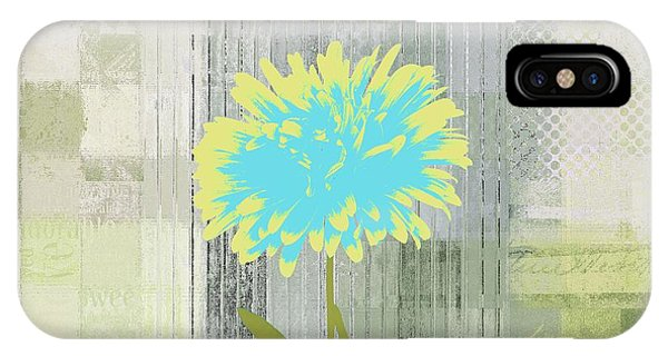 Yellow Flowers iPhone Case - Abstractionnel - 29grfl3c-gr3 by Variance Collections