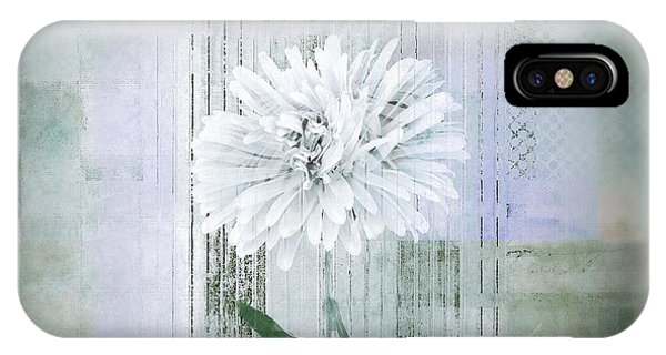 Contemporary Floral iPhone Case - Abstractionnel - 334d1 by Variance Collections