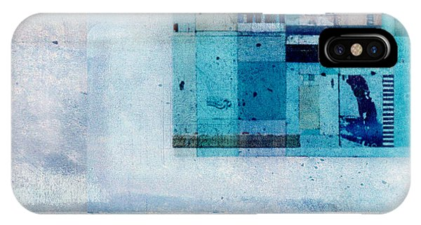 Aqua iPhone Case - Abstractitude - C02v by Variance Collections
