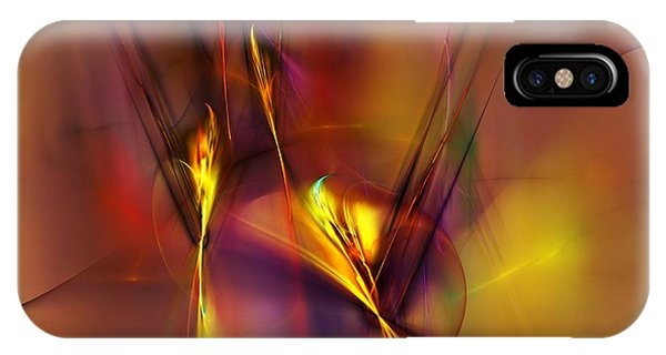 Abstracts Gold And Red 060512 IPhone Case