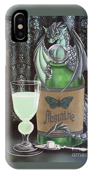Absinthe Dragon IPhone Case