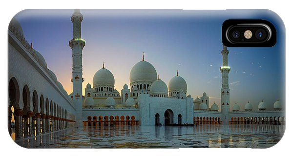 Abu Dhabi Grand Mosque IPhone Case