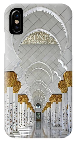 Abu Dhabi Mosque IPhone Case