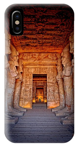 Abu Simbel Great Temple IPhone Case