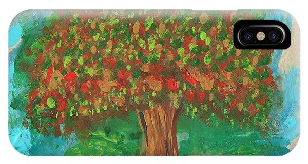 Abundant Tree IPhone Case
