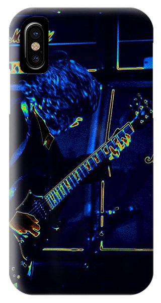 Ac Dc Electrifies The Blues IPhone Case