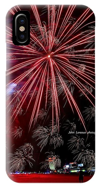 Ac Fireworks IPhone Case