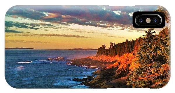 Acadia At Dawn IPhone Case