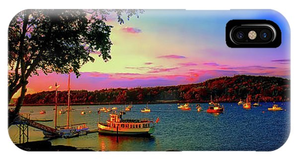 Acadia Bar Harbor Sunset Cruises.tif IPhone Case
