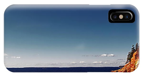 Acadia, National Park, Light House, Maine  IPhone Case