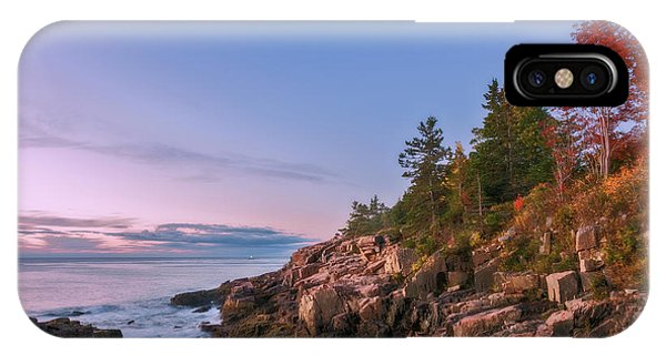 IPhone Case featuring the photograph Acadia by Sharon Seaward