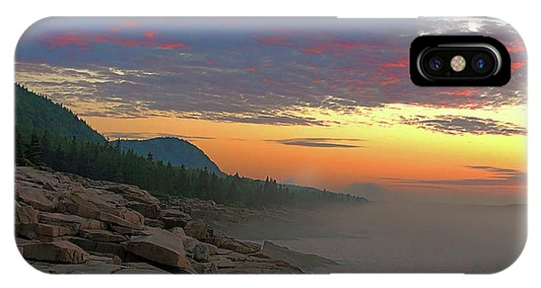 Acadia Sunrise  IPhone Case