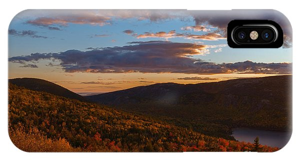 Acadia Sunset IPhone Case