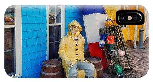 Acadian Fisherman, Prince Edward Island, Canada IPhone Case