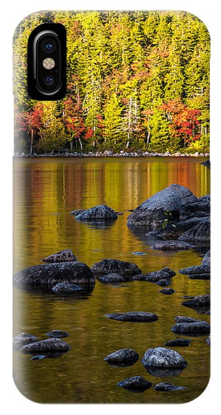 Pond iPhone Case - Acadian Glow by Chad Dutson