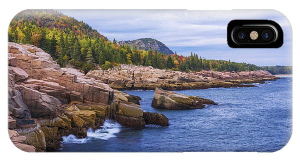 Coast iPhone Case - Acadia's Coast by Chad Dutson