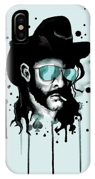 Bacon iPhone Case - Ace Of Spades by Ludwig Van Bacon
