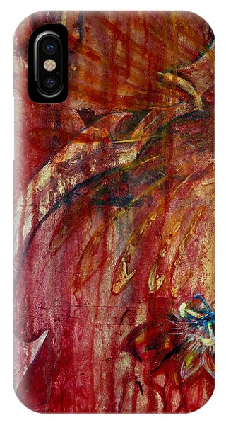 IPhone Case featuring the painting Ace Of Swords by Ashley Kujan