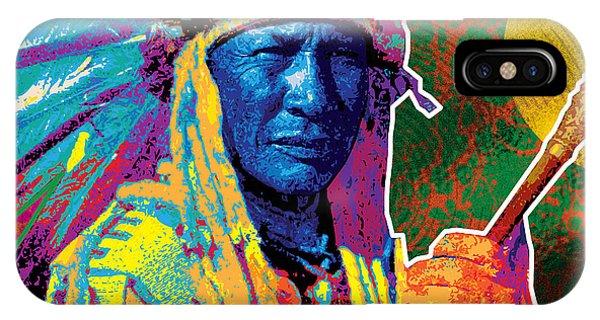 Aceca Indian Chief IPhone Case