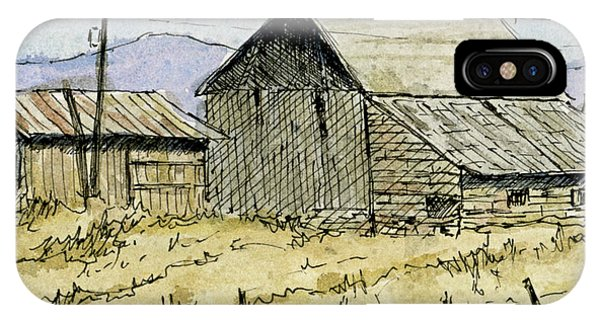 Aceo No 3 Two Barns IPhone Case